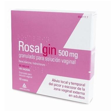 Imagen del producto ROSALGIN 500 MG 10 SOBRES