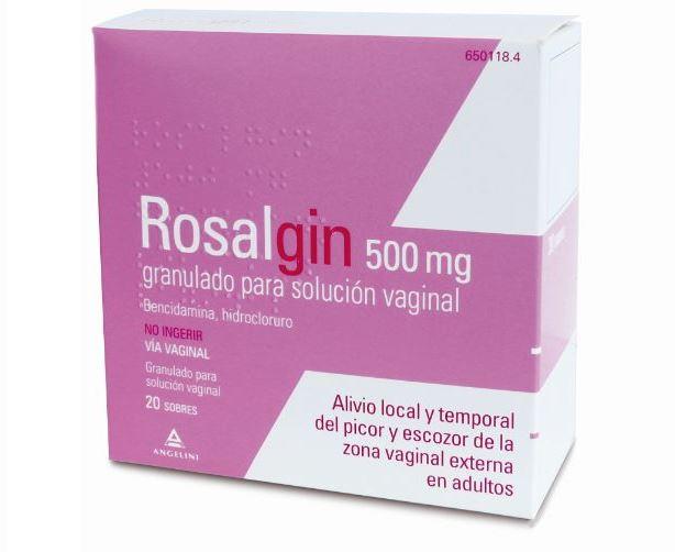 Imagen del producto ROSALGIN 500 MG 20 SOBRES