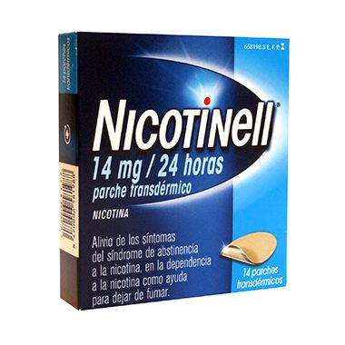 Imagen del producto NICOTINELL 14 MG/24H 14 PARCHES TRANSDÉRMICOS