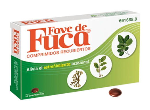 Imagen del producto FAVE DE FUCA 40 COMPRIMIDOS