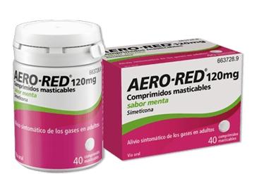 Imagen del producto AERO RED 120 MG COMPRIMIDOS MASTICABLES SABOR MENTA, 40 COMPRIMIDOS