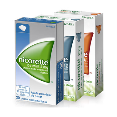 Imagen del producto NICORETTE ICE MINT 2 MG 105 CHICLES MEDICAMENTOSOS