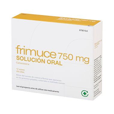 Imagen del producto FRIMUCE 750 MG SOLUCIÓN ORAL, 12 SOBRES