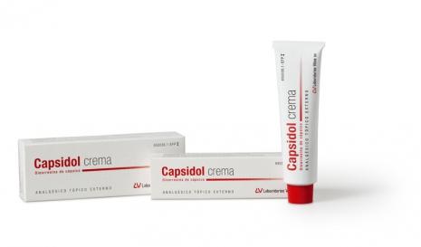 Imagen del producto CAPSIDOL 0.025% CREMA 30 G