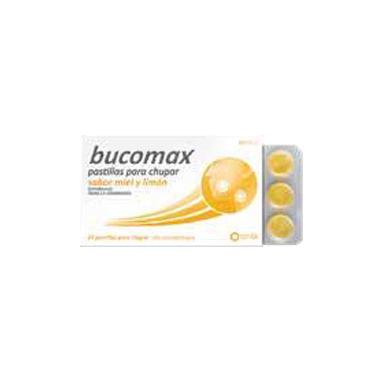 Imagen del producto BUCOMAX PASTILLAS PARA CHUPAR MIEL Y LIMON, 24 PASTILLAS