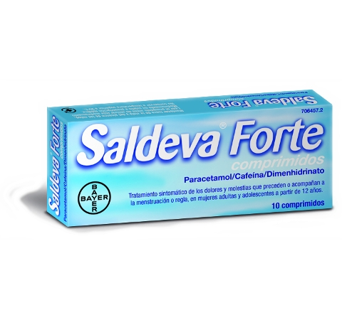 Imagen del producto SALDEVA FORTE 10 COMPRIMIDOS