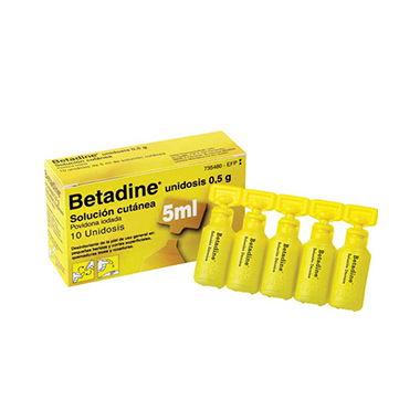 Imagen del producto BETADINE 10% 10 MONODOSIS 5 ML