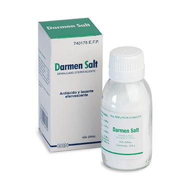 Imagen del producto DARMEN SALT GRANULADO EFERVESCENTE, 1 frasco de 100 g