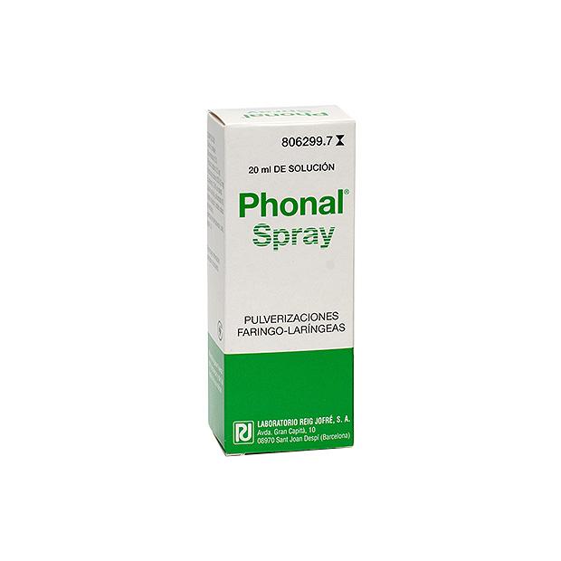 Imagen del producto PHONAL SPRAY 20 ML