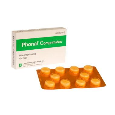 Imagen del producto PHONAL 10 COMPRIMIDOS