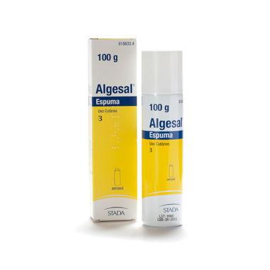 Imagen del producto ALGESAL ESPUMA, 100 g