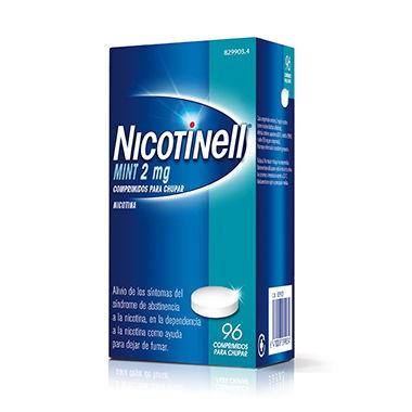 Imagen del producto NICOTINELL MINT 2 MG COMPRIMIDOS PARA CHUPAR 96