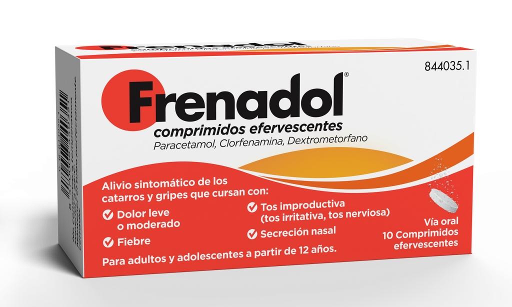Imagen del producto FRENADOL 10 COMPRIMIDOS EFERVESCENTES