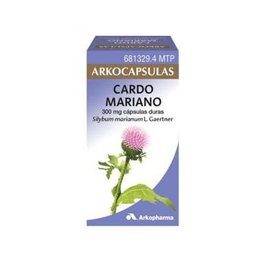 Imagen del producto ARKOCAPSULAS CARDO MARIANO 300 MG 100 CÁPSULAS DURAS