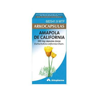 Imagen del producto ARKOCAPSULAS AMAPOLA DE CALIFORNIA 240 MG 100 CÁPSULAS DURAS