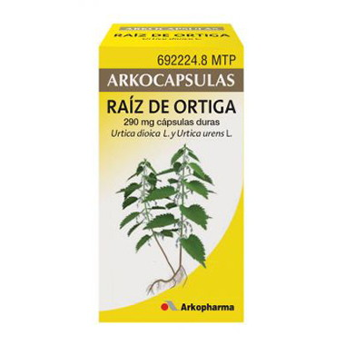 Imagen del producto ARKOCAPSULAS RAÍZ DE ORTIGA 290 MG 48 CÁPSULAS DURAS