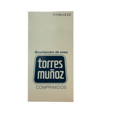 Imagen del producto BICARBONATO DE SOSA TM 500 MG 30 COMPRIMIDOS