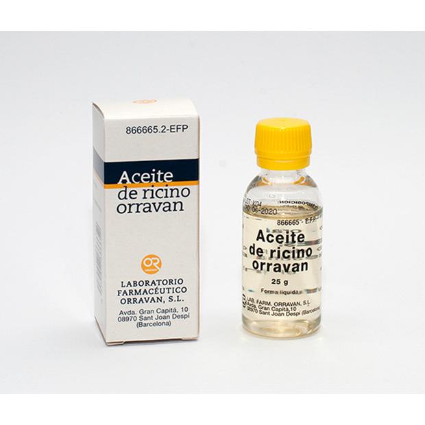 Imagen del producto ACEITE DE RICINO ORRAVAN 25 G