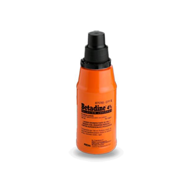 Imagen del producto BETADINE  4% SOLUCIÓN JABONOSA 125 ML