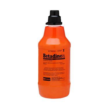 Imagen del producto BETADINE 4% SOLUCIÓN JABONOSA 500 ML