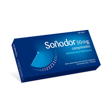 Imagen del producto SOÑODOR 50 MG 16 COMPRIMIDOS
