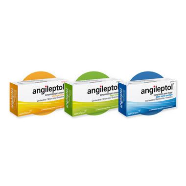 Imagen del producto ANGILEPTOL (30 COMPRIMIDOS PARA CHUPAR MIEL-LIMON)