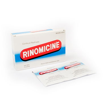 Imagen del producto RINOMICINE 10 SOBRES