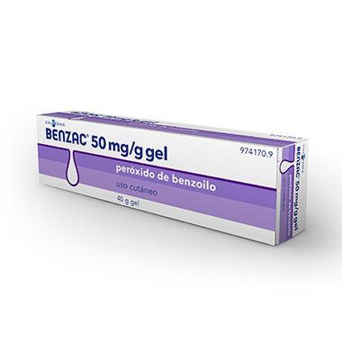 Imagen del producto BENZAC 50mg/g GEL 40 g