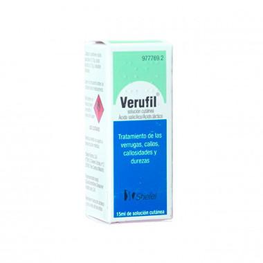 Imagen del producto VERUFIL SOLUCION CUTANEA, 1 frasco de 15 ml