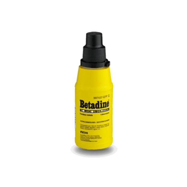 Imagen del producto BETADINE 10% SOLUCIÓN DERMICA 125 ML